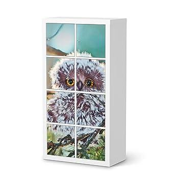 Creatisto Möbel Folie Sticker Für IKEA Kallax Regal 8 Türelemente   Poster  Jugendzimmer Einrichten  