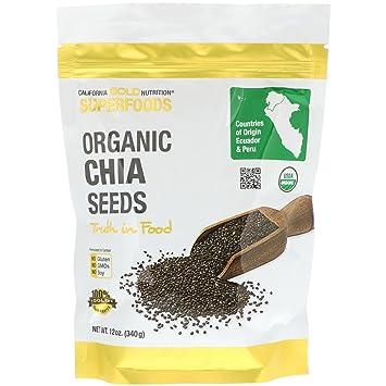 Amazon.com: California Gold Nutrition, Superfoods, semillas ...