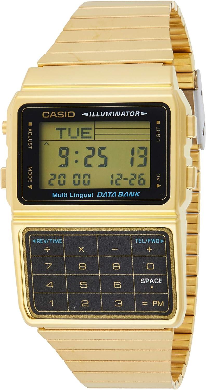 Casio Reloj con Movimiento Cuarzo japonés DBC-611G-1D 33 mm
