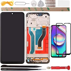 YHX-US Screen Replacement LCD Display Touch Screen Digitizer Assembly with 1 Piece Screen Protector Suitable for Samsung Galaxy A10s SM-A107F SM-A107M 2019 6.20