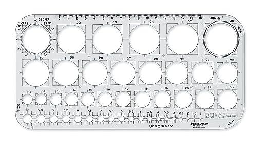 "4 opinioni per Staedtler 576 01- Cerchiometro ""F Mars"","