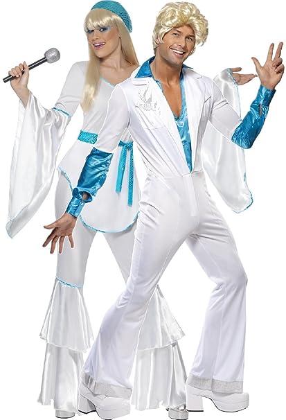 Amazon.com: Vestido para parejas de los años 70 y 70 de la ...