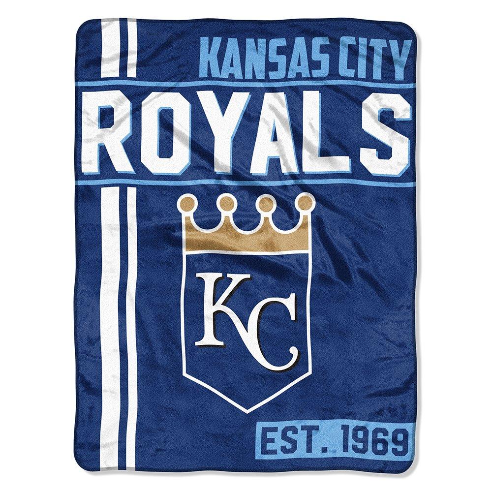 MLB Kansas City Royals Micro Raschel Überwurf, Einheitsgröße, multicolor