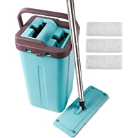 Kalokelvin Flat Mop Bucket Set Blue