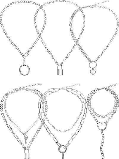 Einfach Liebesherz Anhänger Halskette Kragen Halsreif Kette Frauen Schmuck