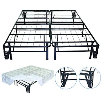 Amazoncom Night Therapy Platform Metal Bed FrameFoundation Set
