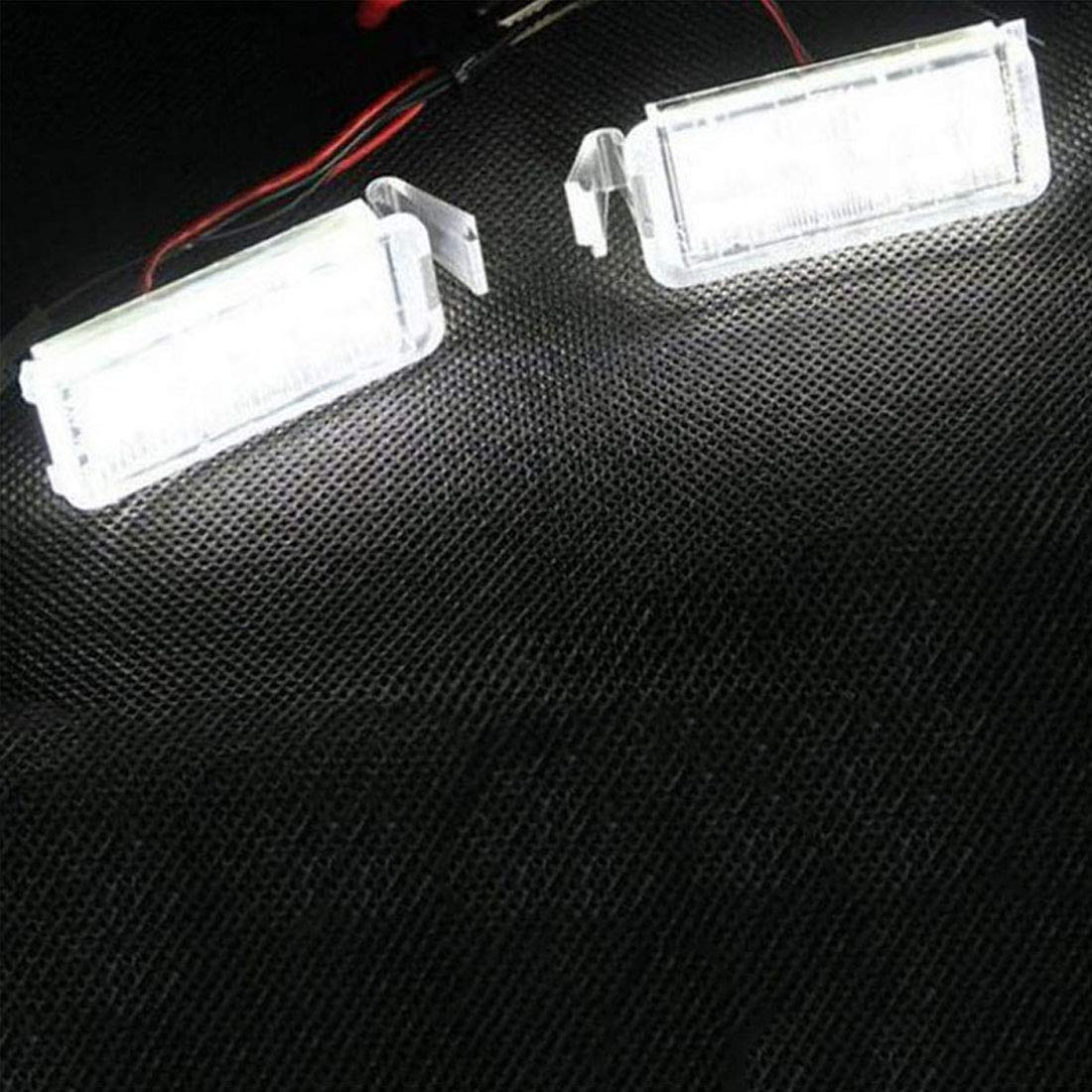 2 luci per Targa Auto a 18 LED per Ford MuChangZi Falcon FG BA//BF 6//8 2003-2008 2018 XR6//8