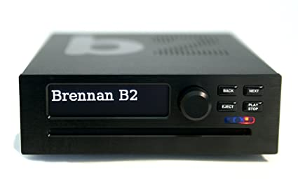 Brennan B2 2TB Black HiFi - Hard Disk CD Ripper & Recorder, Storage and  Player with Bluetooth, YouTube, Internet Radio, Stereo Power Amplifier,  NAS,