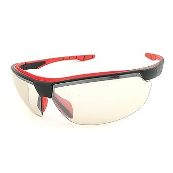 3f50c46b1 Óculos SOL Proteção ESPORTIVO STEELFLEX NEON IN-OUT INCOLOR ESPELHADO  Esportivo AIRSOFT Teste Balístico Paintball