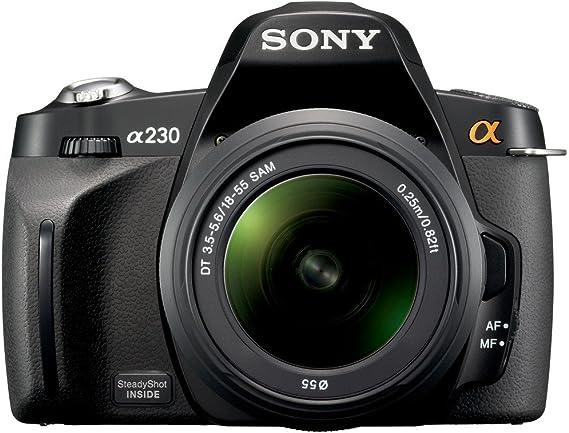 Sony a (alpha) D-A230 - Cámara Réflex Digital 10.2 MP (Objetivo DT ...