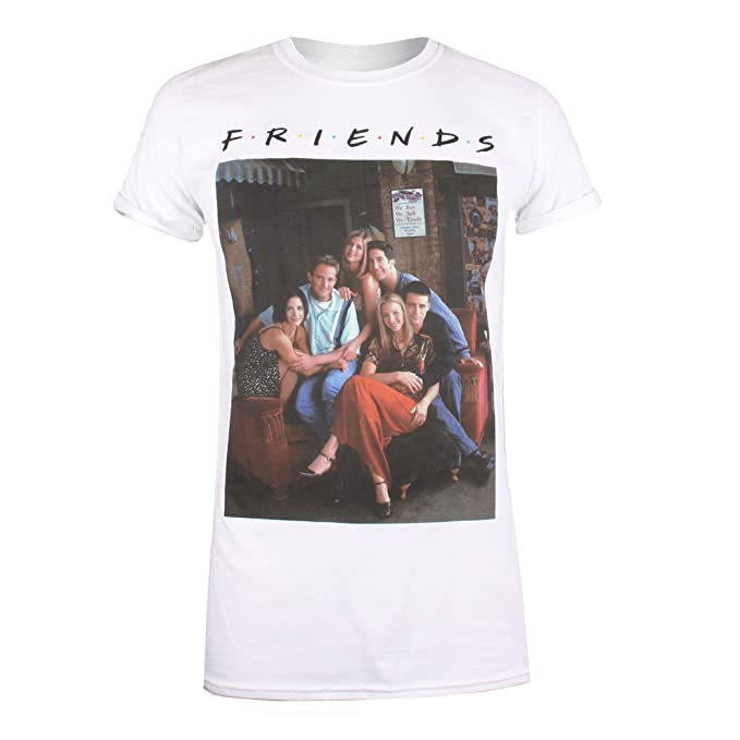 calidad autentica más cerca de precio inmejorable Friends Characters Camiseta para Mujer: Amazon.es: Ropa y ...