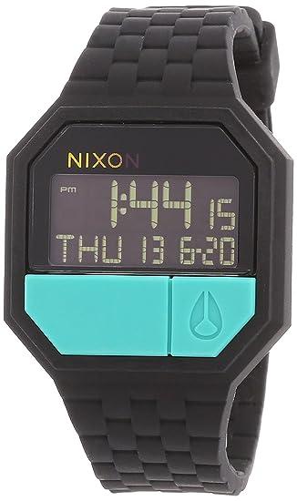 Nixon A1691060-00 - Reloj digital de cuarzo para hombre con correa de silicona, color: Amazon.es: Relojes