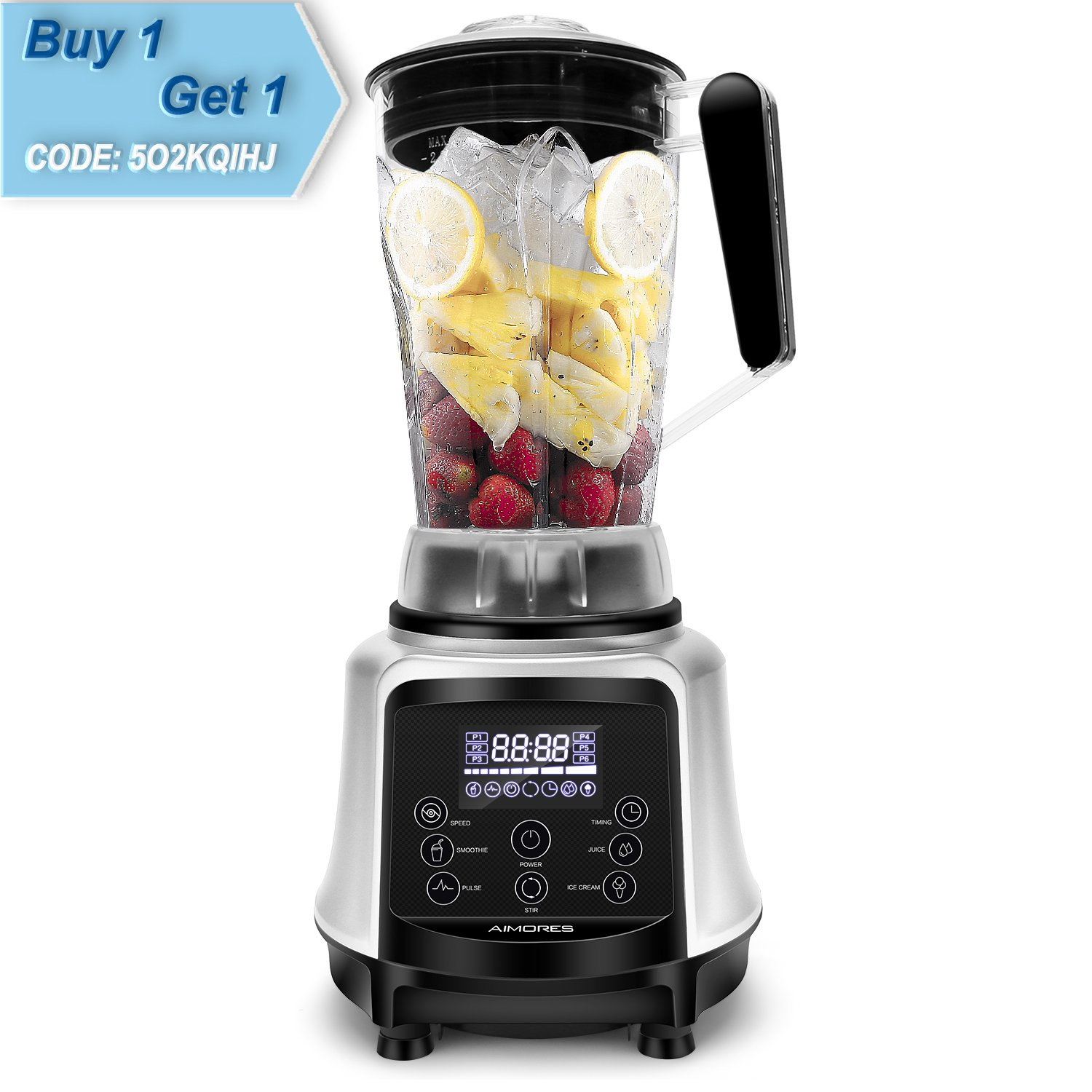 Amazoncom Aimores Professional Blender For Shakes And Smoothies, Food Processor,