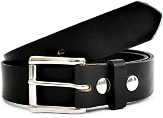 product image for American Bench Craft Men's Heavy Duty Work Leather Belt with Interchangeable Buckle