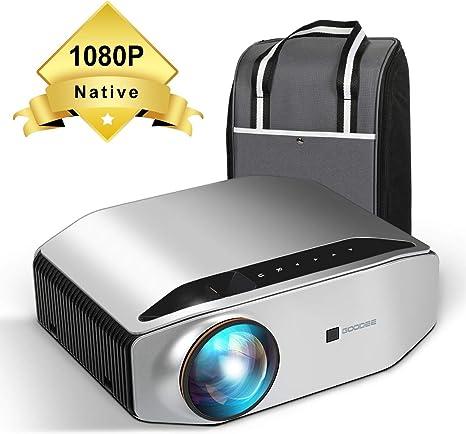 Amazon.com: GooDee YG620 - Proyector de vídeo LED (1080p ...