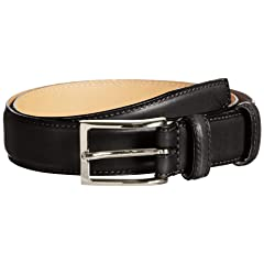 Felisi Calf Belt 21-52-0094-101: Black