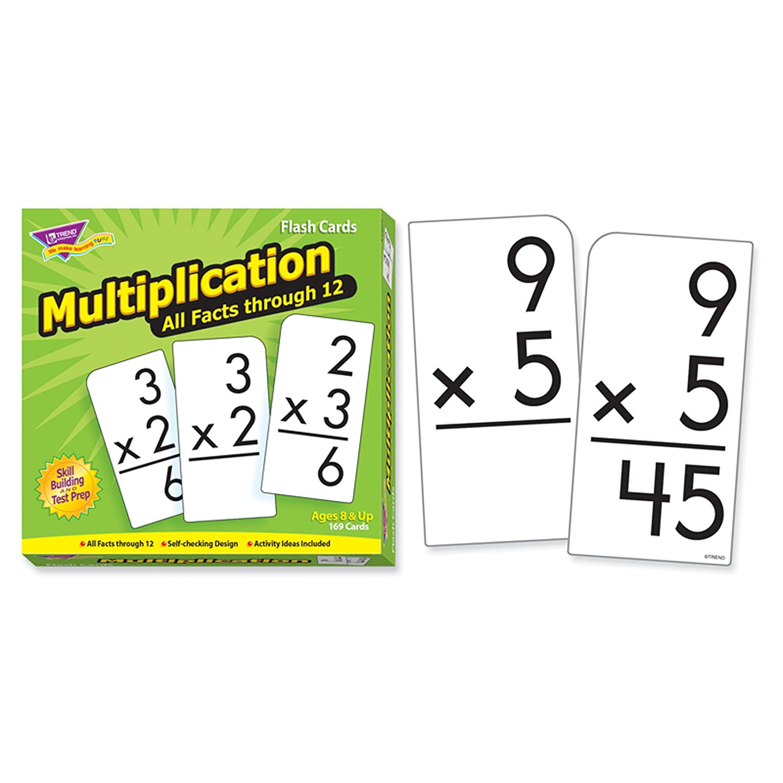 Amazon.com: Trend Enterprises Inc Multiplication 0-12 All Facts ...