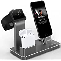 Olebr Apple Watch / Airpods / iPhone Aluminum Charging Stand