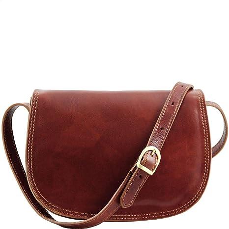 f4c51c8fce Tuscany Leather Isabella Borsa in pelle da donna Marrone: Amazon.it ...