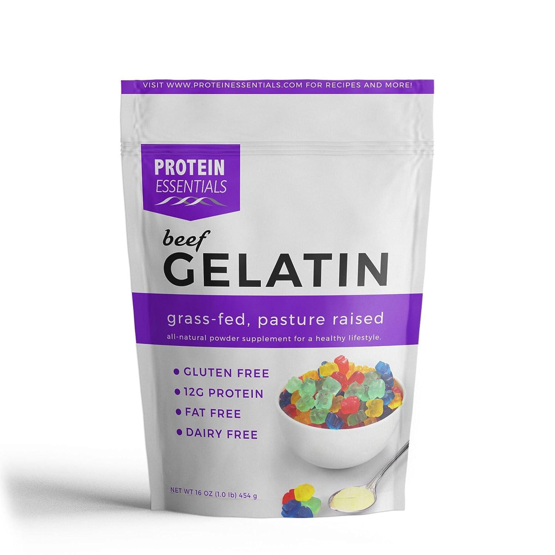 Amazon.com : Protein Essentials Gelatin, Pasture-Raised, Grass-Fed ...