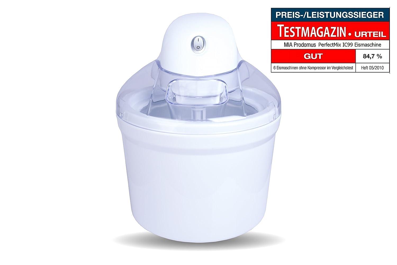 Eismaschinen  Amazon.de: Perfect Mix Eismaschine / Eiscreme Maschine 4in1 ...