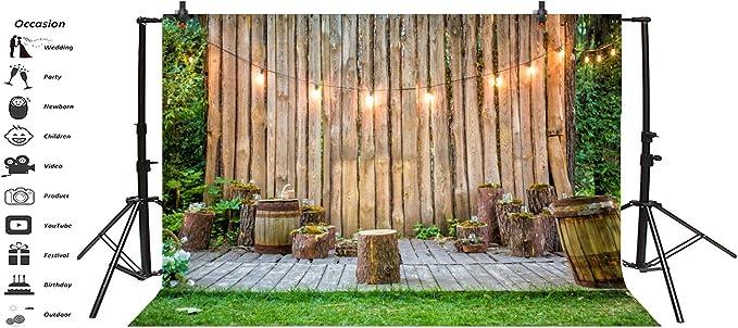 Baocicco - Plantillas de madera para pared, diseño de rayas, para ...