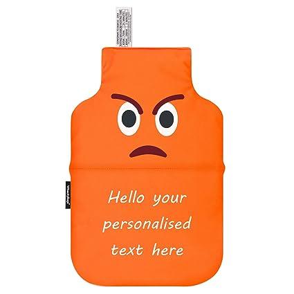 Emoji - Bolsa de trigo para microondas (personalizable), diseño de ...