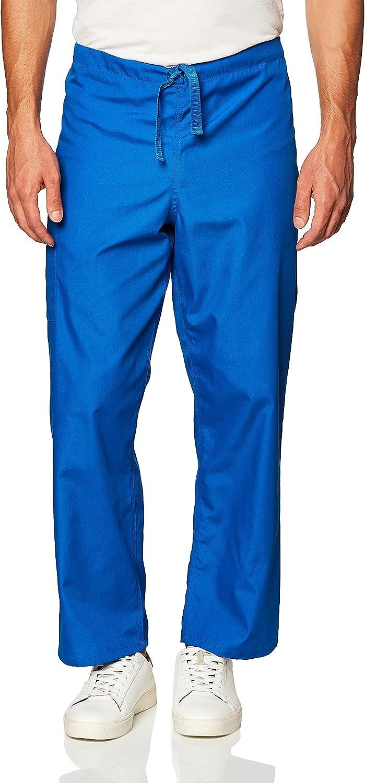 Cherokee Originals Unisex Drawstring Cargo Scrubs Pant, Royal, Small: Medical Scrubs Pants: Clothing