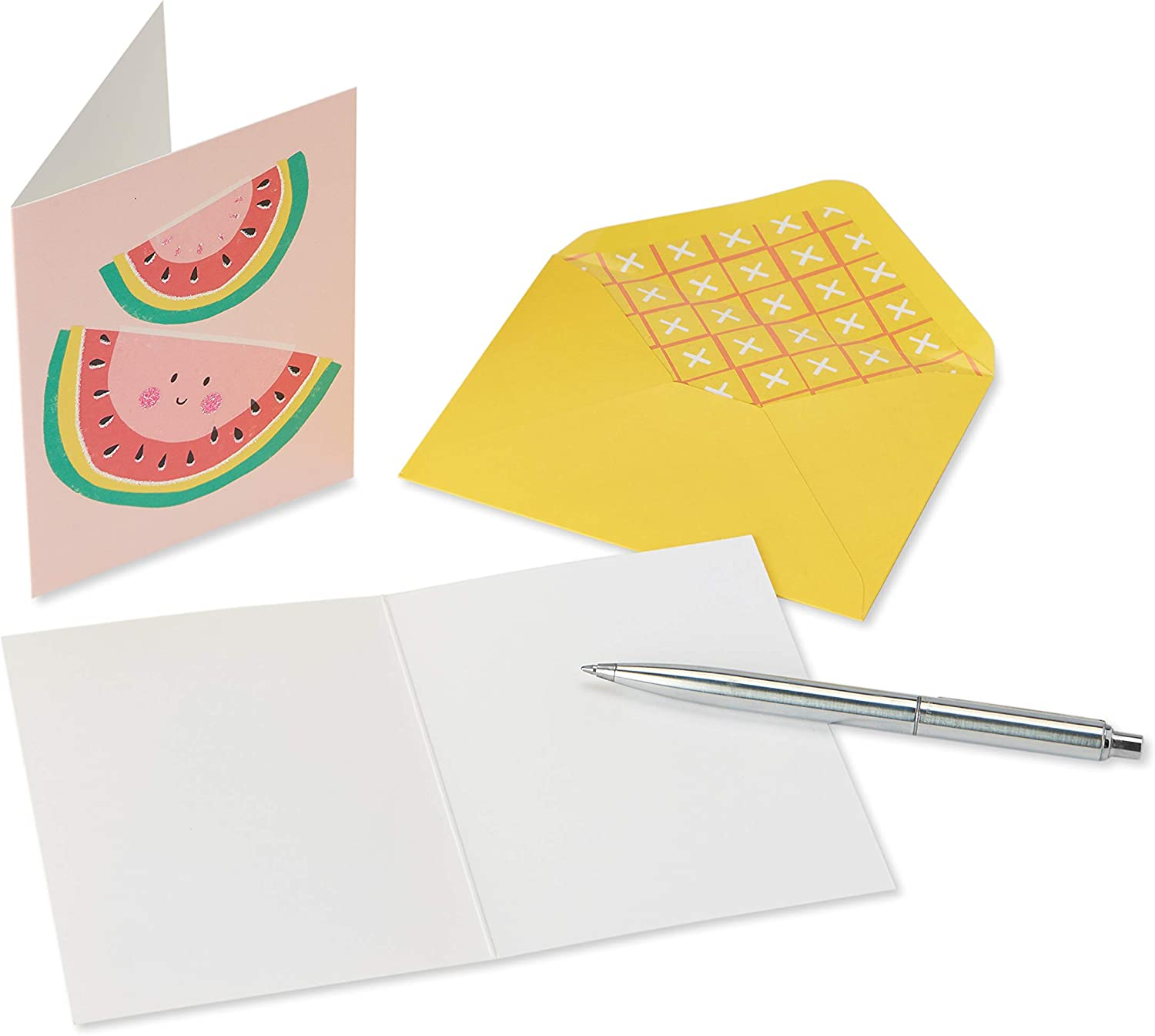 20-Count Papyrus Boxed Blank Cards with Envelopes Fruit