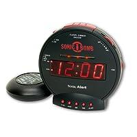 Geemarc SBC575SS- Extra loud vibrating alarm clock- UK Version