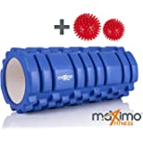 FOAM ROLLER - Trigger Point - Stronger and Harder for DEEPER Massage - QUICK START guide - Perfect Muscle Roller for Home, Gym, Pilates, Yoga - 14cm x 33cm - Lifetime Guarantee.