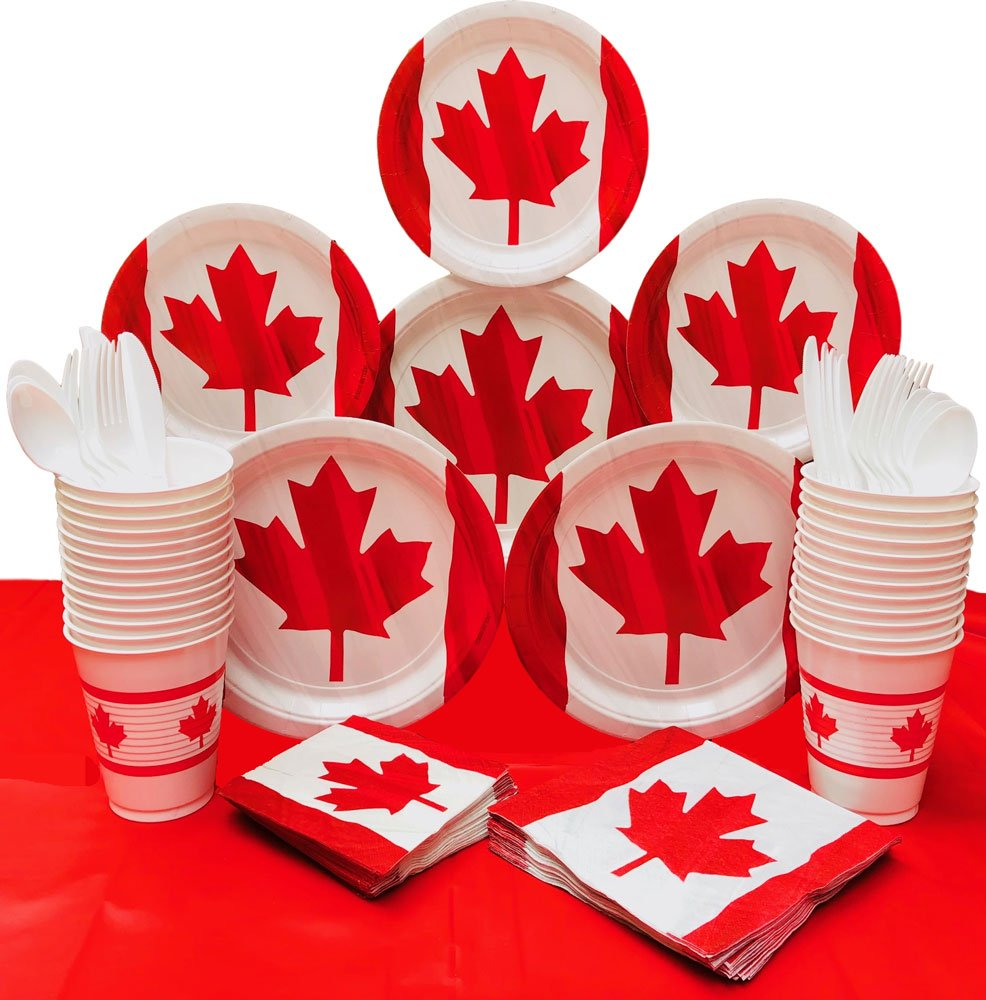 Canada Day Decorations Canada Day Party Supplies Waving Canadian