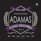 Adamas OV1818E Light (.012-.053 ga) Phosphor Bronze Acoustic Guitar Strings