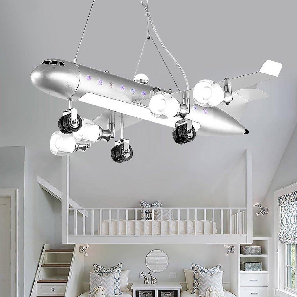 Amazon com nydz airplane ceiling pendant light chandelier led