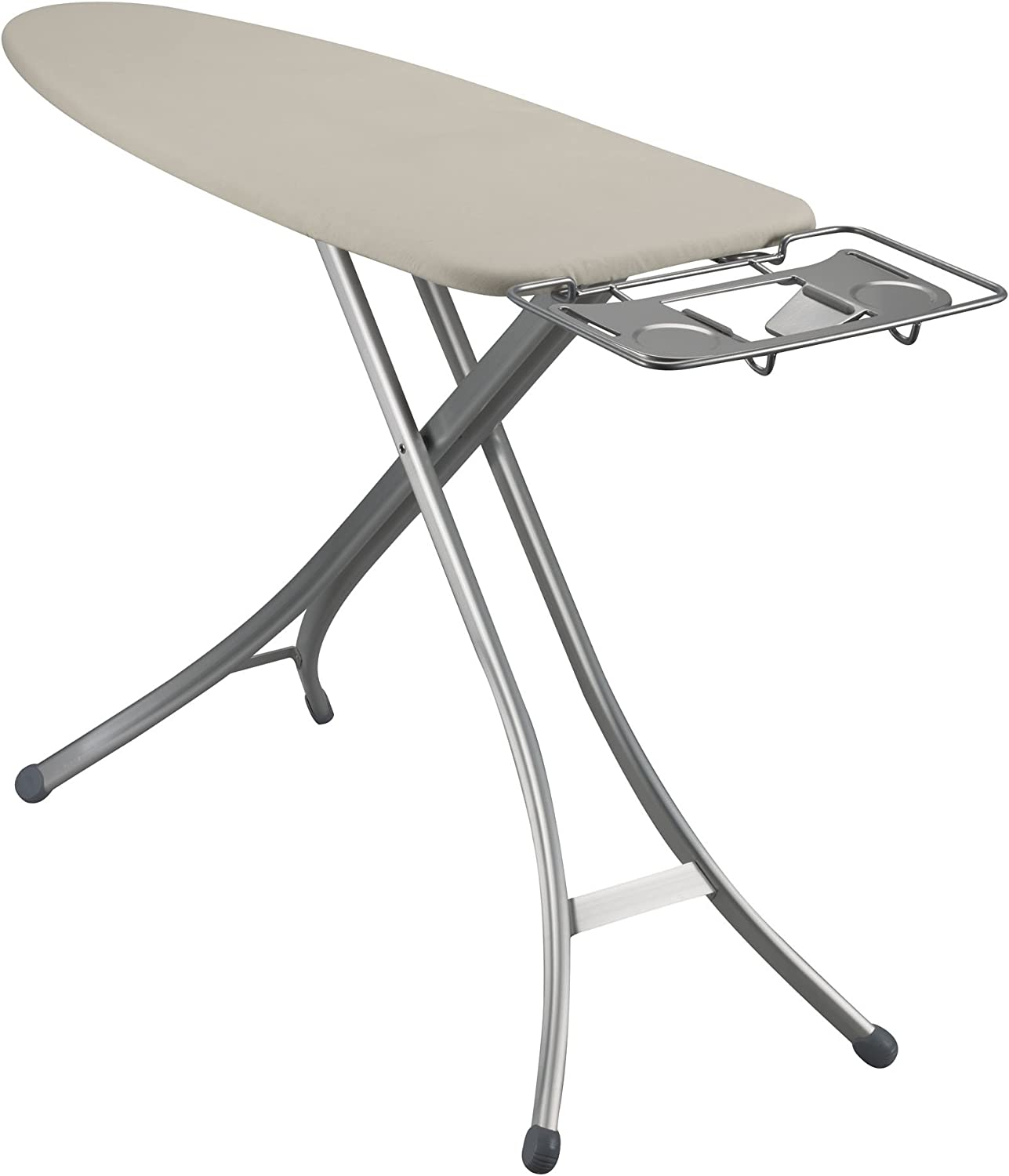 Household Essentials Fibertech Mega Top 4 Leg Aluminum Ironing Board With Natural Cotton Cover Amazon Ca Home Kitchen