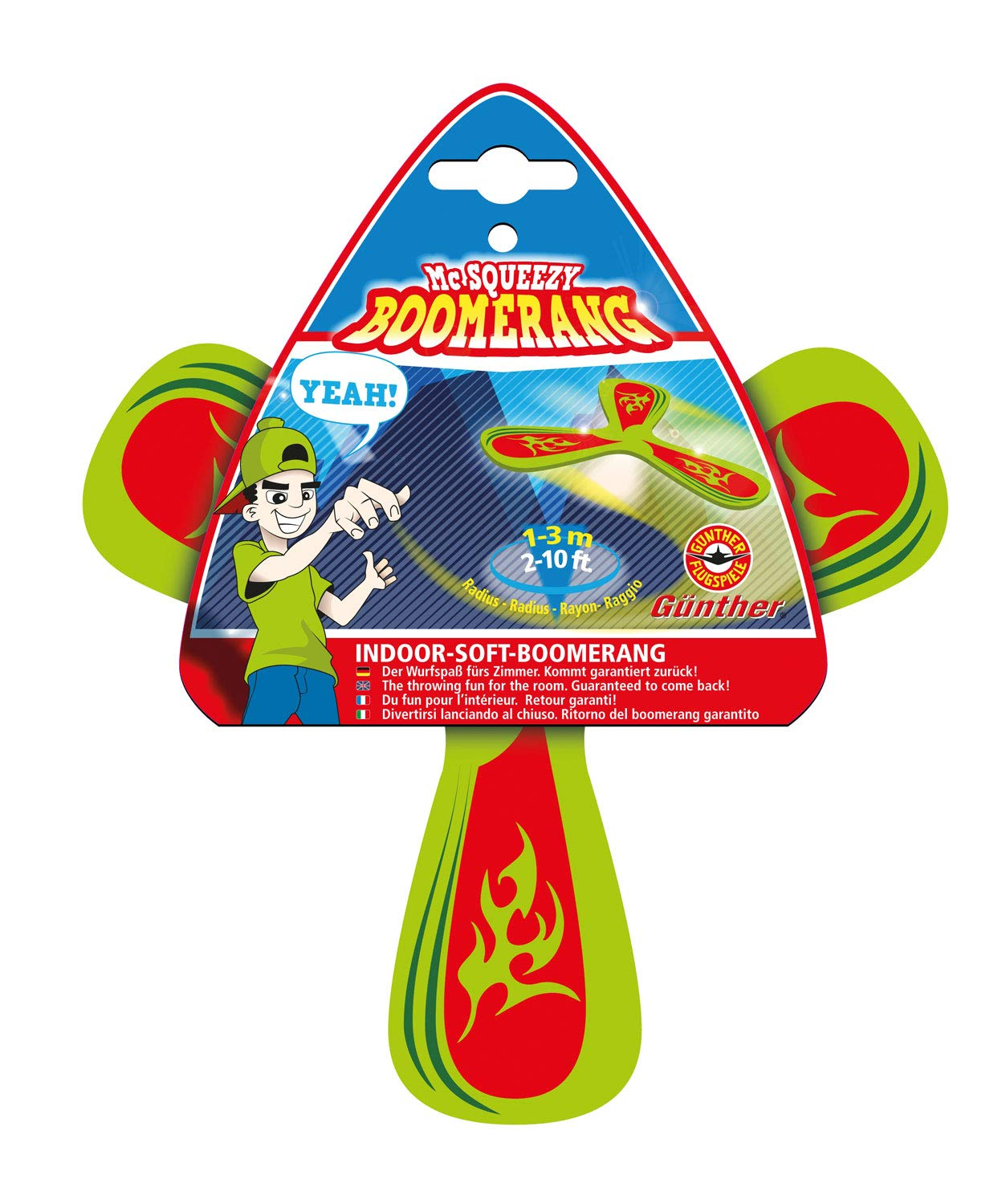 Guenther 1543 21 cm Mc Squeezy Boomerang