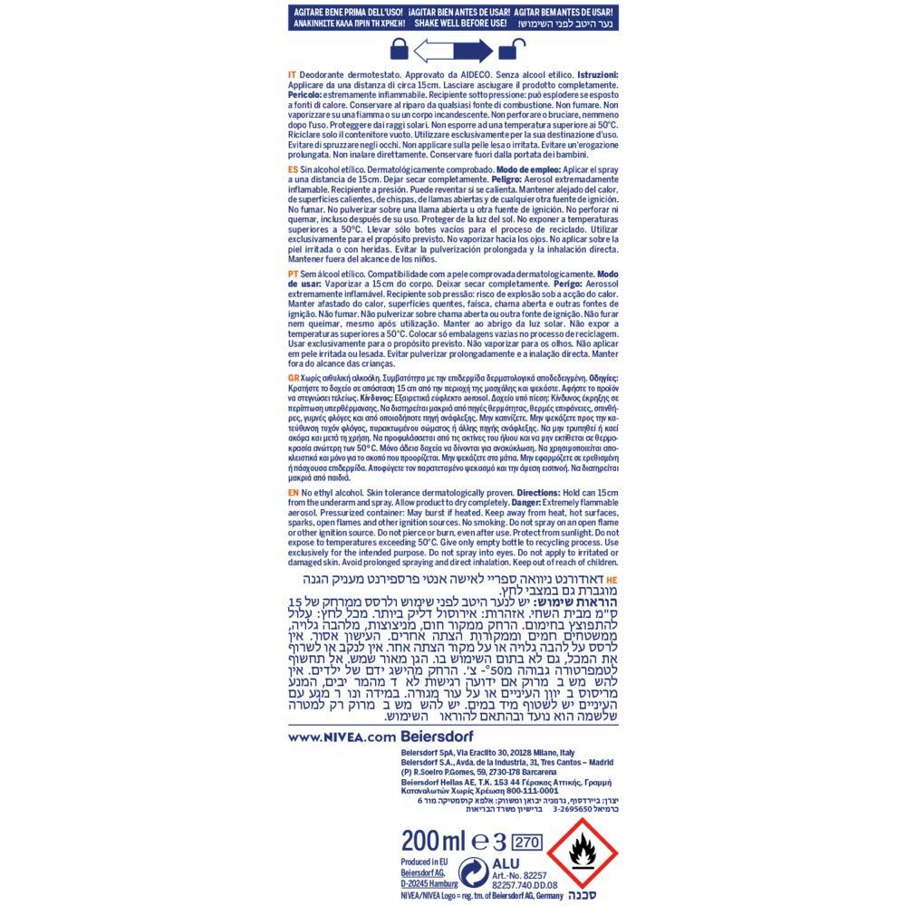 Nivea Stress Protect Desodorante Vaporizador - 20 cl: Amazon ...
