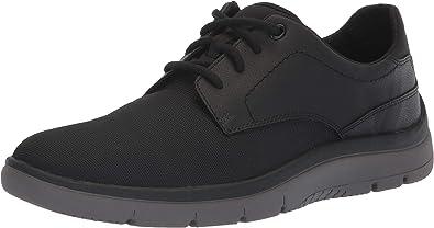 black plain sneakers