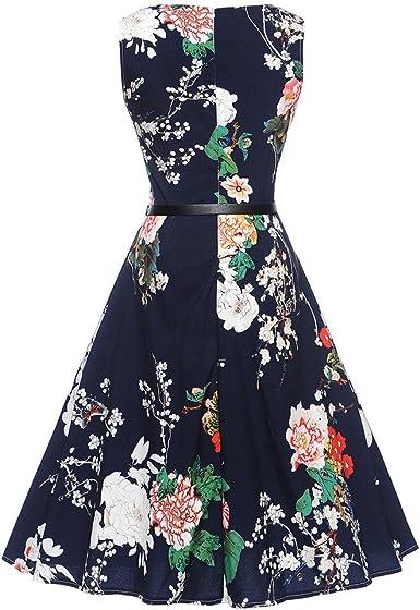 Briskorry sin Mangas Vestido Falda con Estampado Princess Skirt de ...