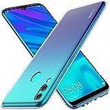 KuGi für Huawei P smart 2019 Hülle, Kratzfeste Hülle Schutzhülle Soft TPU Case Ultradünn Cover [Slim-Fit] passt Designed für Huawei P smart 2019 Smartphone - Kristall Klar