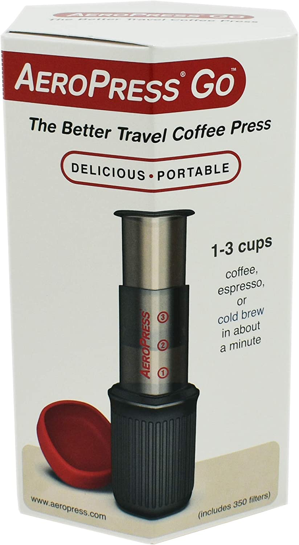 AeroPress - 10R11 - Go - Cafetera de plástico, ideal para viajar ...