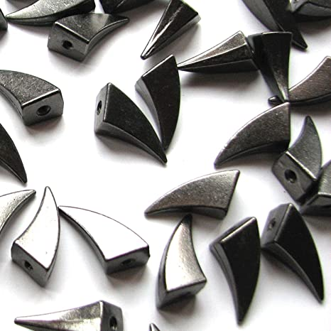 20pcs Claw Tree Spikes Metal Studs Rivets Spike Screwback Leather Silver