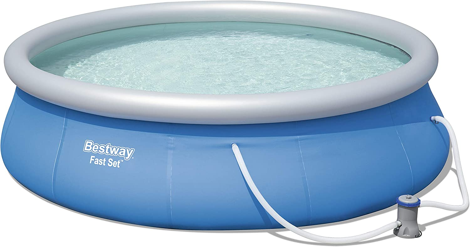Piscina Desmontable Autoportante Bestway Fast Set 396x84 cm ...