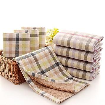 Puro Algodón gasa toalla de rayas Twist hilo doble hilo teñido 3476 cm: Amazon.es: Hogar