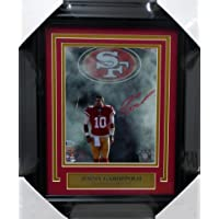 $269 » Jimmy Garoppolo Autographed Framed 8x10 Photo San Francisco 49ers Tri-Star & Beckett BAS Stock #154885