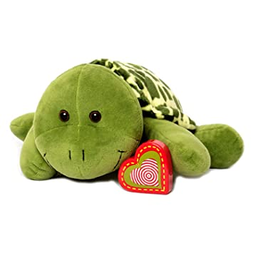 Amazon Com My Baby S Heartbeat Bear Giant Turtle Stuffed Animal