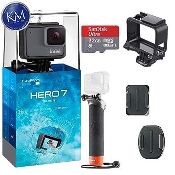 Amazon.com: GoPro Hero 7 (plata) cámara de acción con juego ...