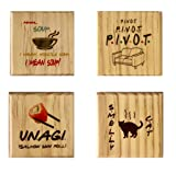 Friends Coasters (By Brindle Southern) Smelly