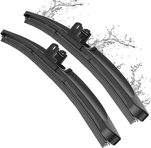 METO T6 Silicone Windshield Wiper Blades