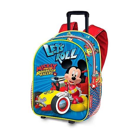 438d41fc0c KARACTERMANIA Mini Zainetto Trolley Topolino Mickey Mouse Disney per Primi  Passi - Asilo Nido, Tempo